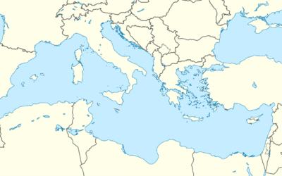 Fernand Braudel, Mediterraneo